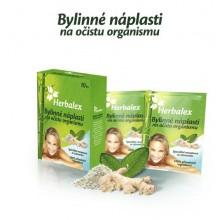 HERBALEX bylinné detoxikační náplasti 10ks + 40% gratis
